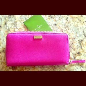 Kate♠️Spade pink wallet